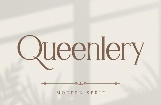 Queenlery Font