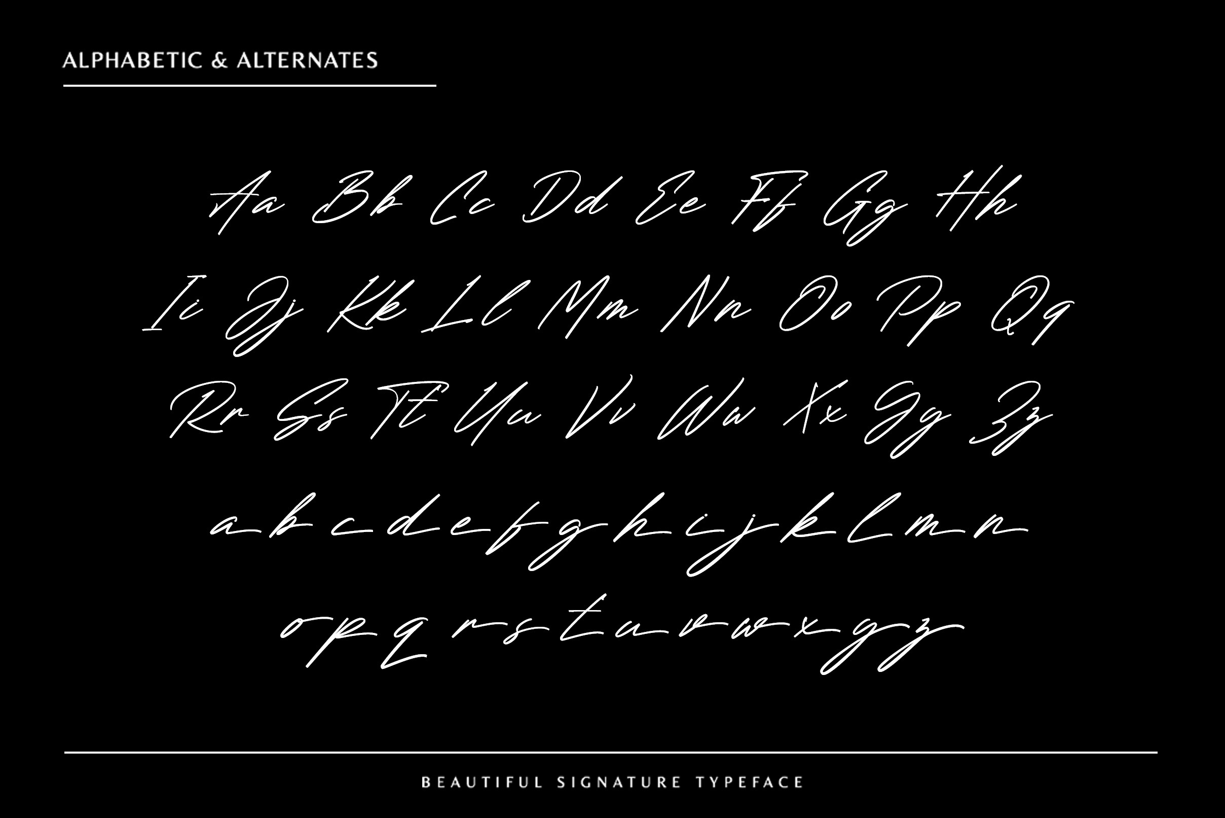 Renature Signature Script Font -2
