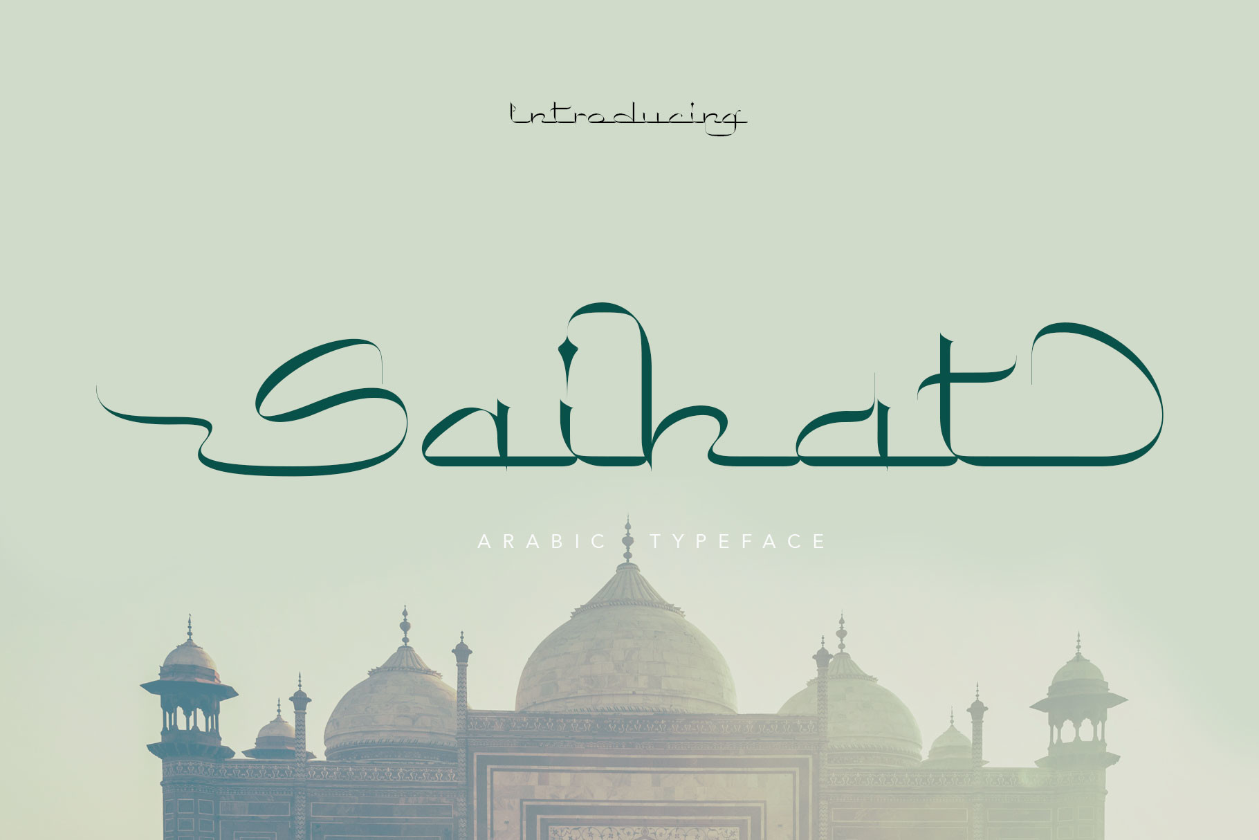 Saihat Arabic Font -1