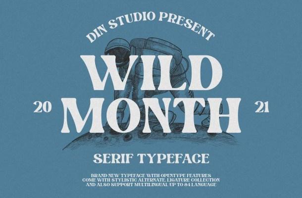 Wild Month Font