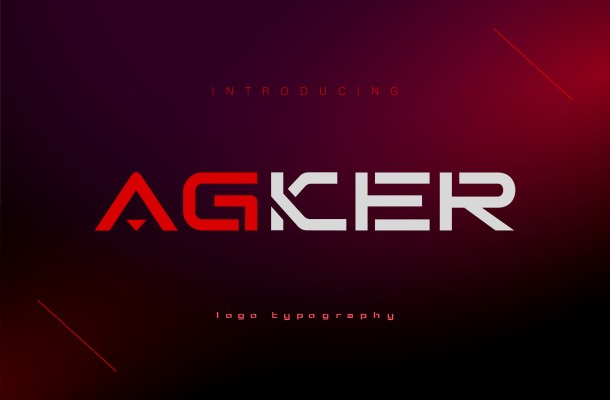 Agker Font