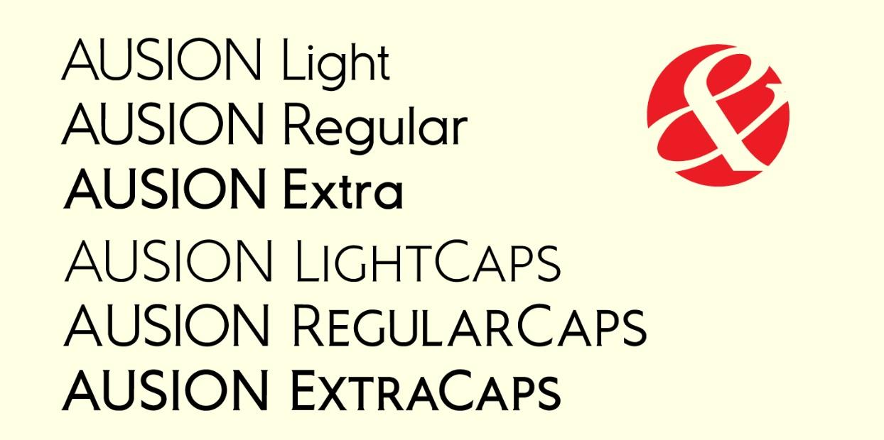 Ausion Sans Serif Font -2