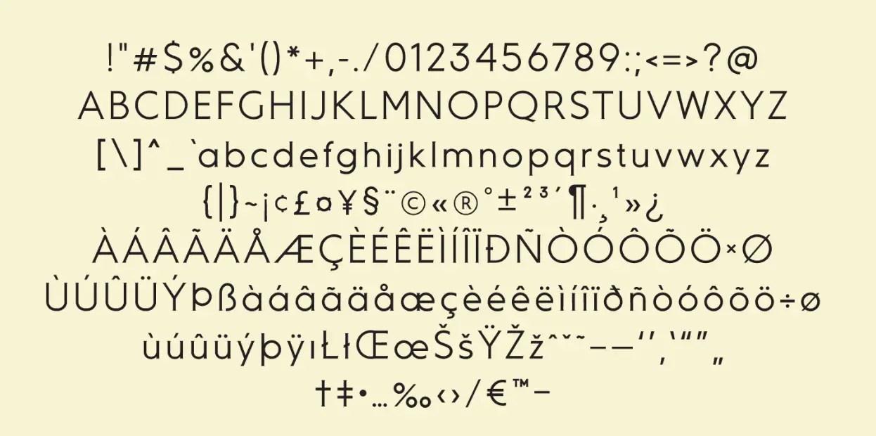 Ausion Sans Serif Font -3