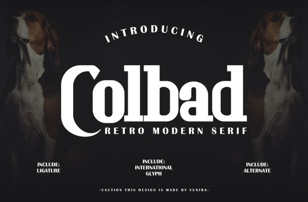 Colbad Font