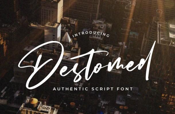 Destomed Font
