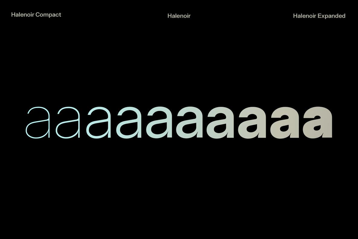 Halenoir Bold Sans Serif Font -3