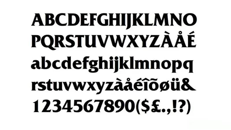KFC Logo Font -2