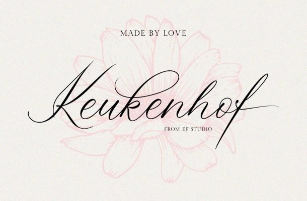 Keukenhof Font