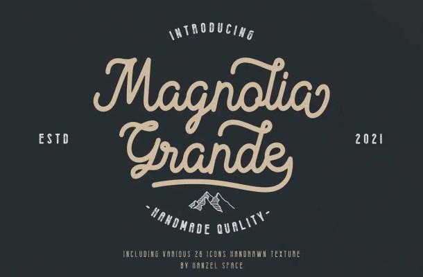 Magnolia Grande Font