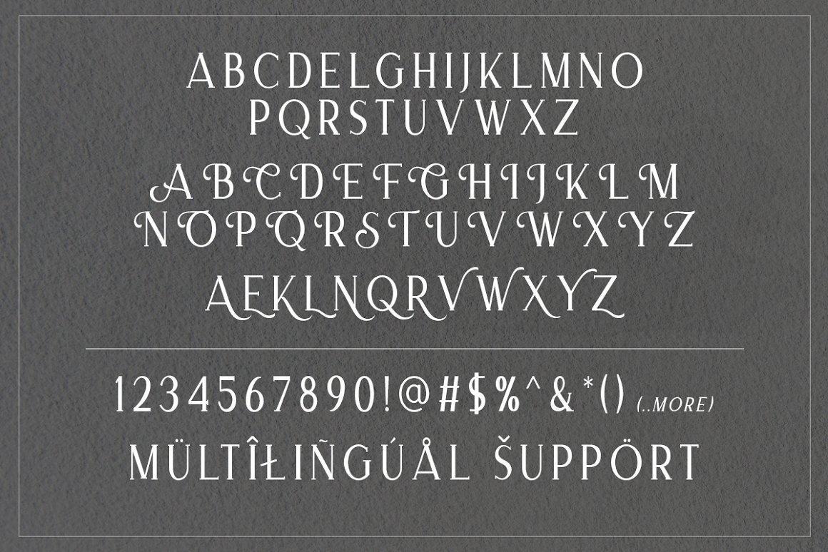 Merova Classic Serif Font -3