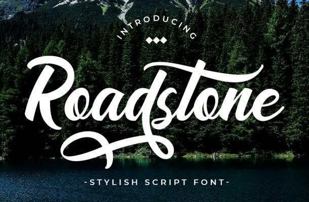 Road Stone Font