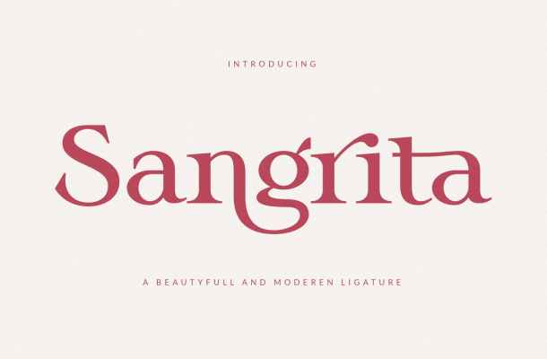 Sangrita Font