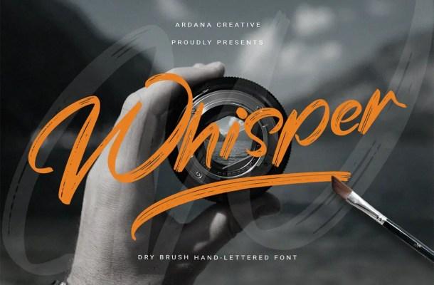Whisper Font