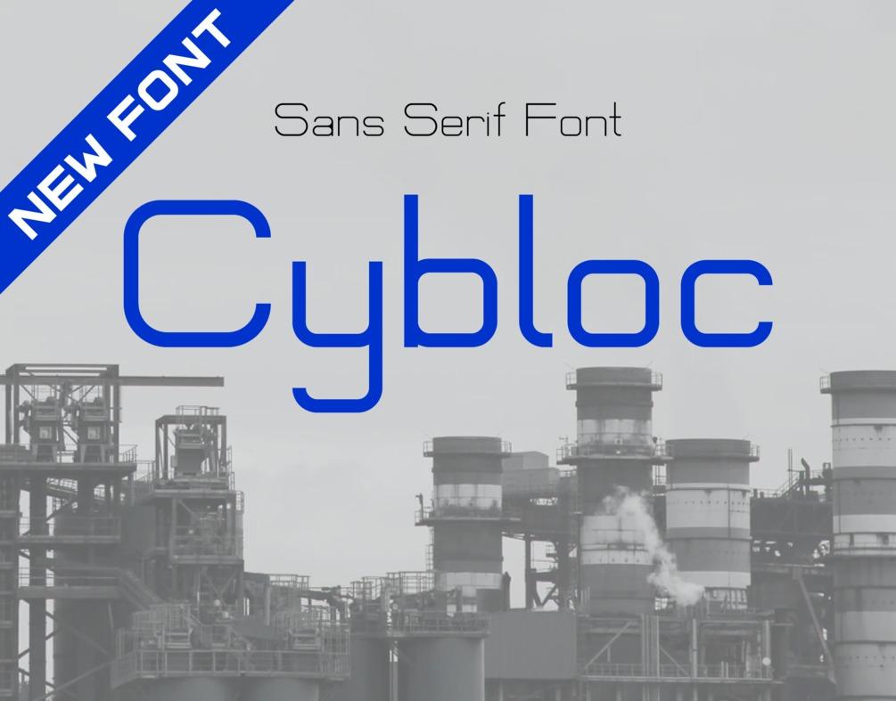 Cybloc Sans Serif Font -1