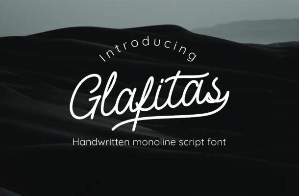 Glafitas Font
