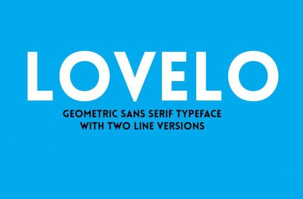 Lovelo Font