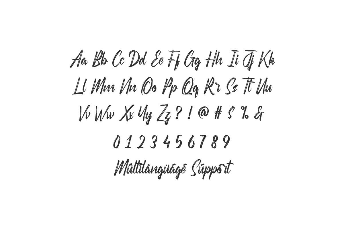 Hellno Brush ScriptFont -3