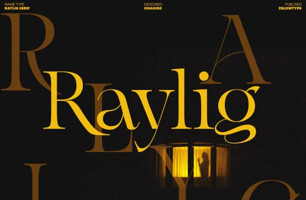 Raylig Font