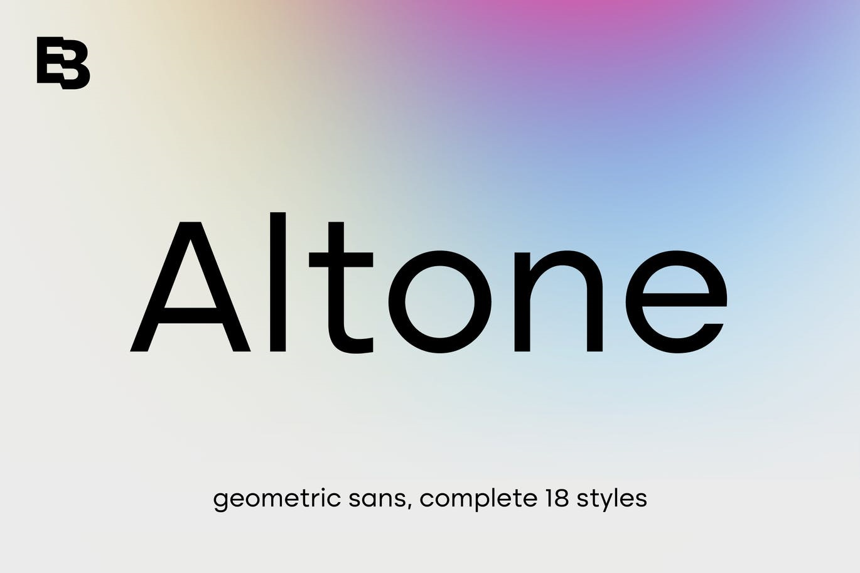 Altone Sans Serif Font Family -1