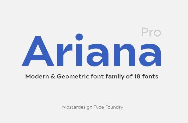 Ariana Pro Font