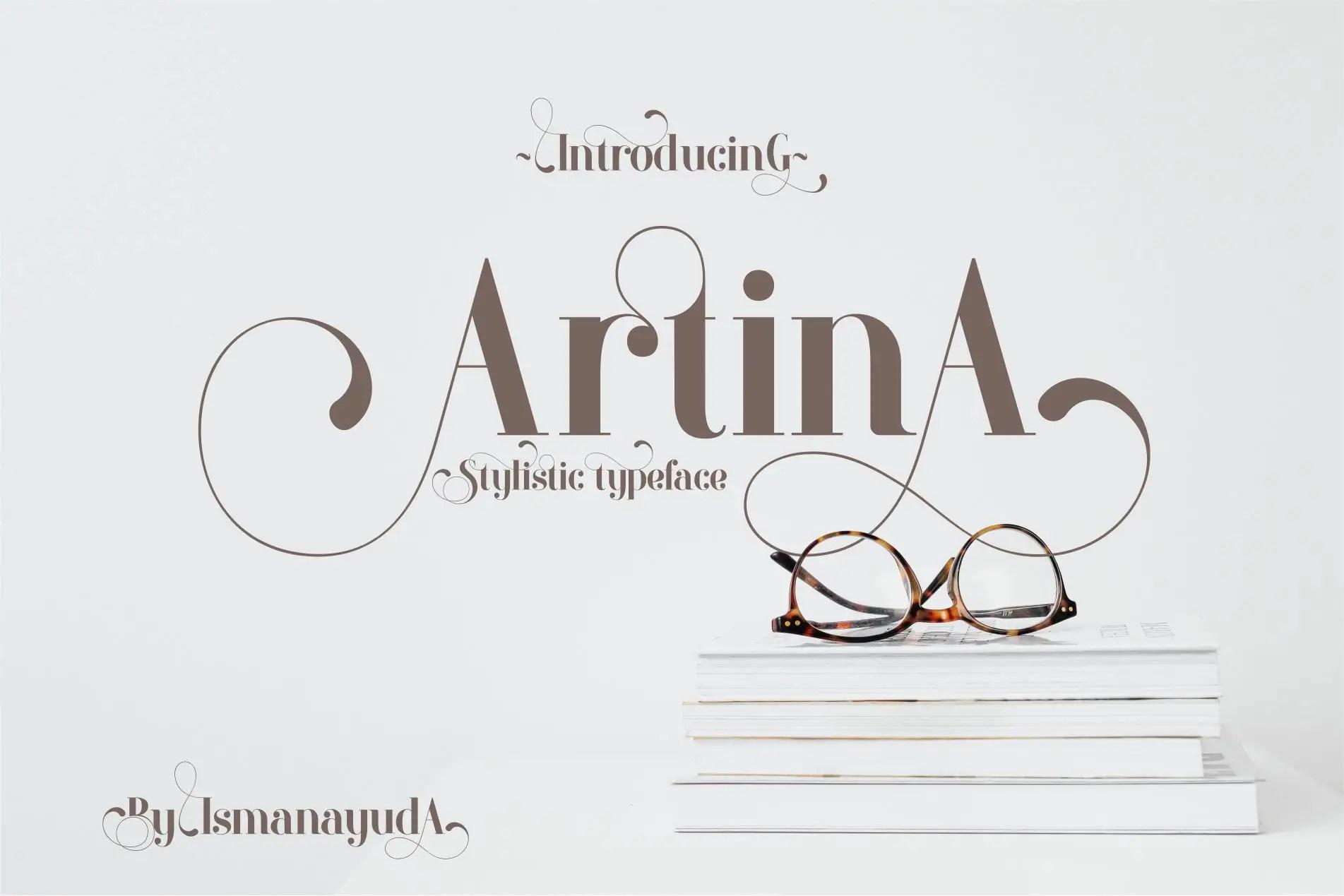 Artina Stylish Serif Font -1