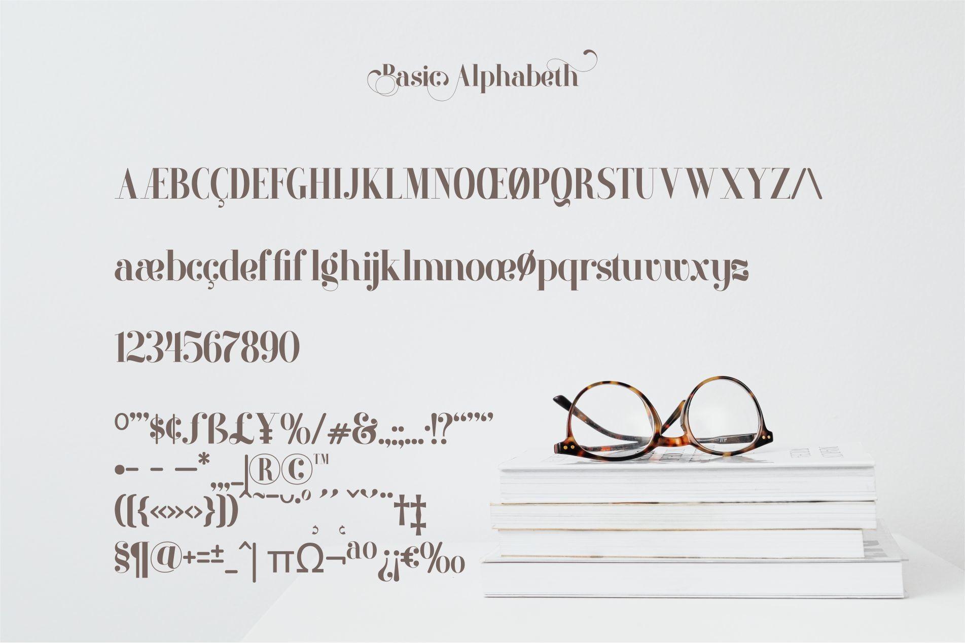 Artina Stylish Serif Font -3