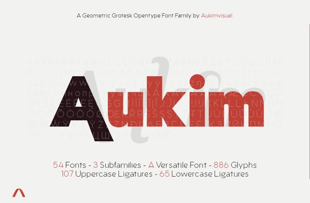 Aukim Font Family