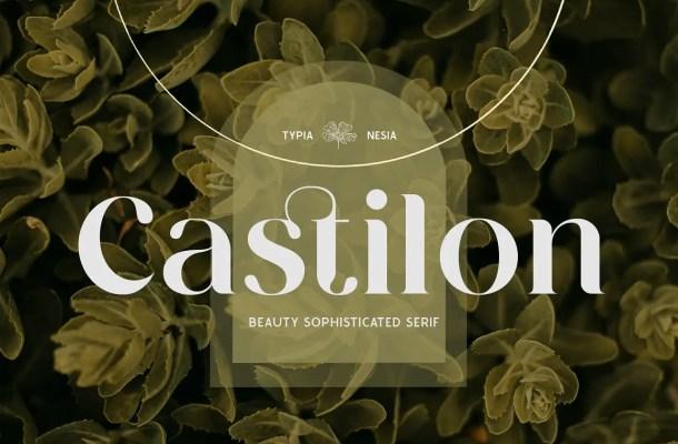 Castilon Font