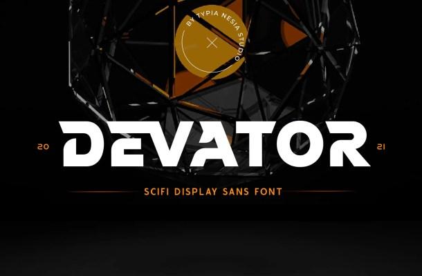 Devator Font