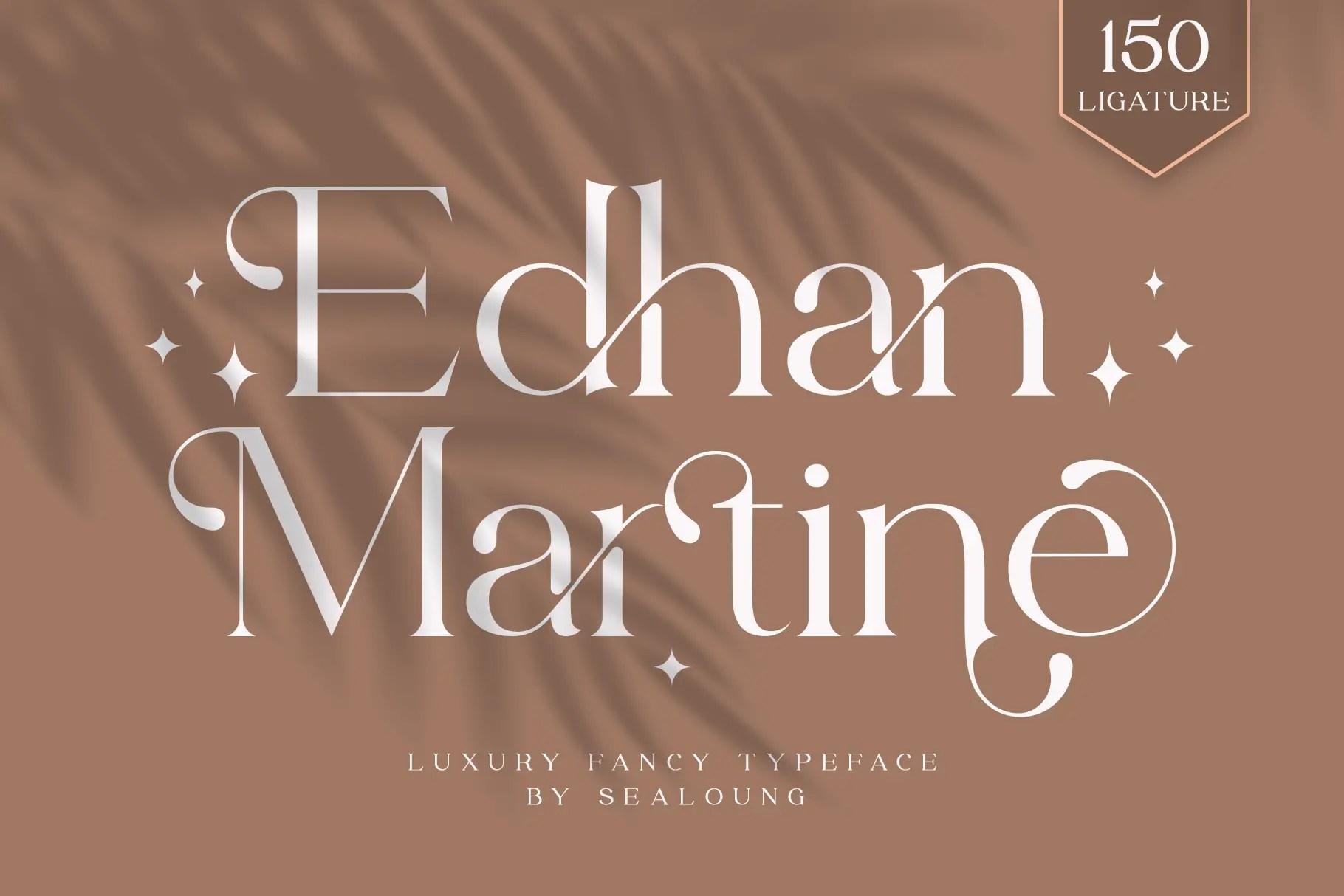 Edhan Martine Serif Font -1