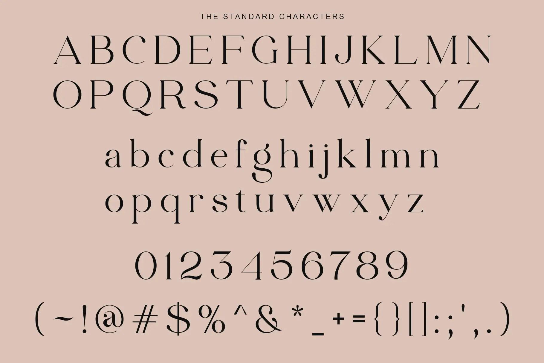 Edhan Martine Serif Font -3