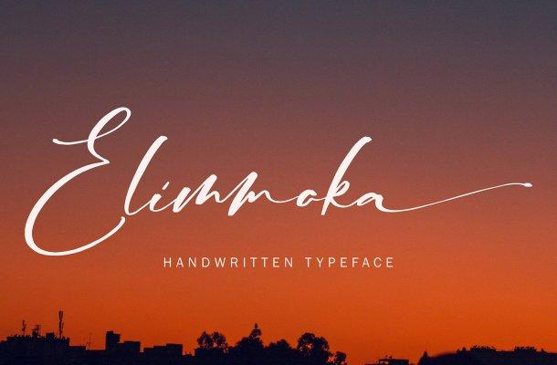 Elimmoka Font