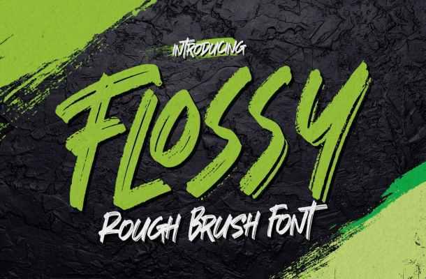 Flossy Font