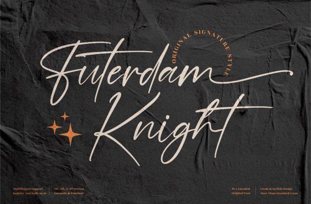 Futerdam Knight Font
