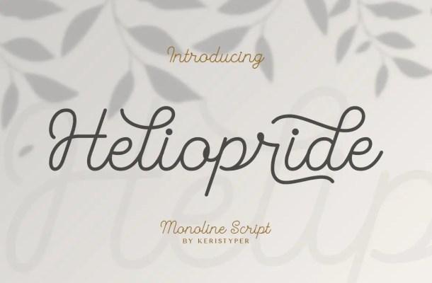 Heliopride Font