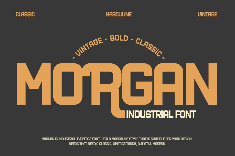 Industrial Display Font -1