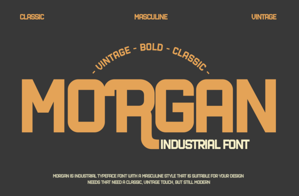 Industrial Font
