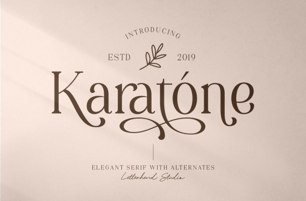 Karatone Font
