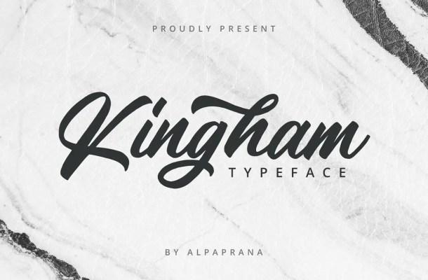 Kingham Font
