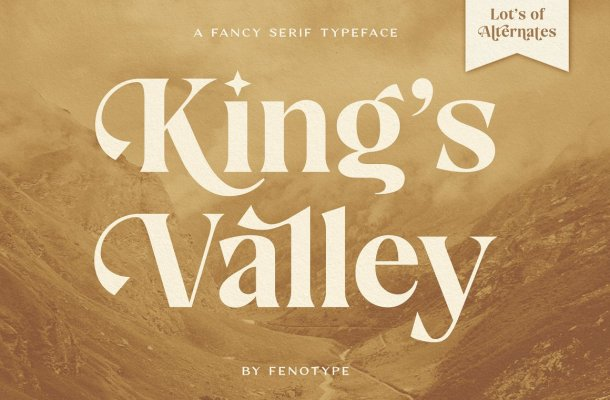 King's Valley Font