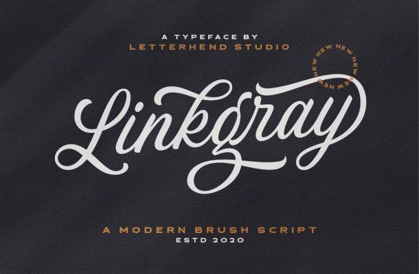 Linkgray Font
