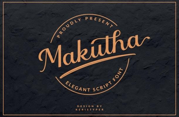 Makutha Font