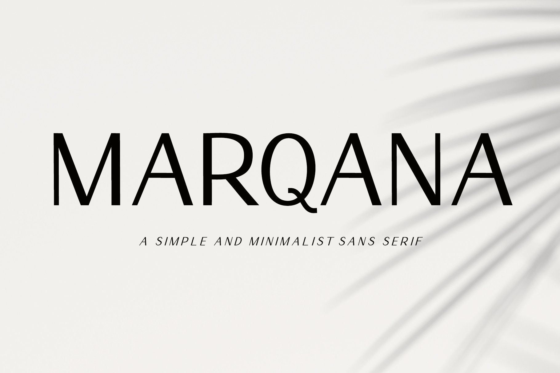 Marqana Modern Sans Font -1