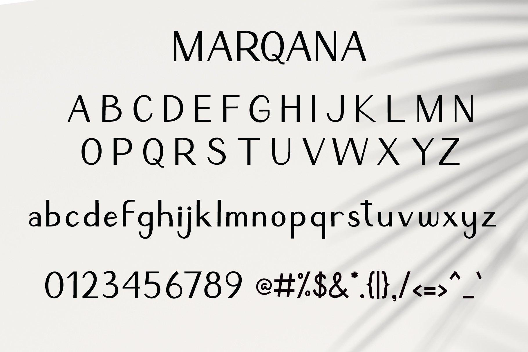 Marqana Modern Sans Font -3
