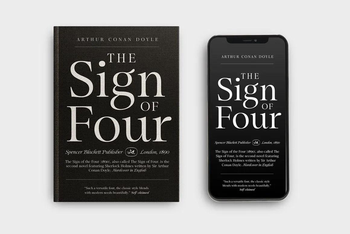 Mauren Serif Typeface -2