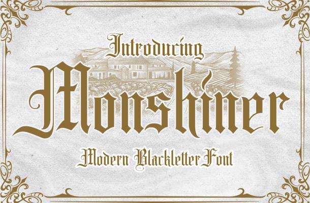 Monshiner Font