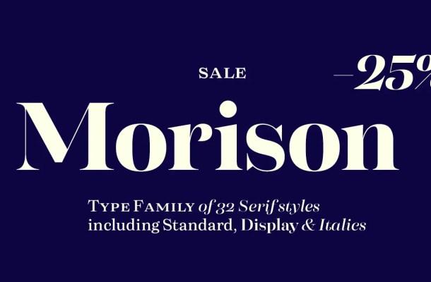 Morison Font