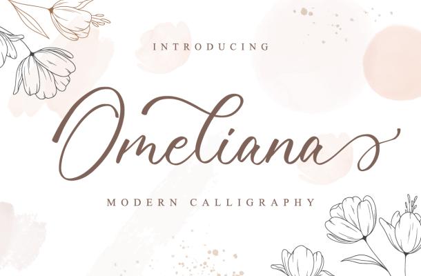 Omeliana Font