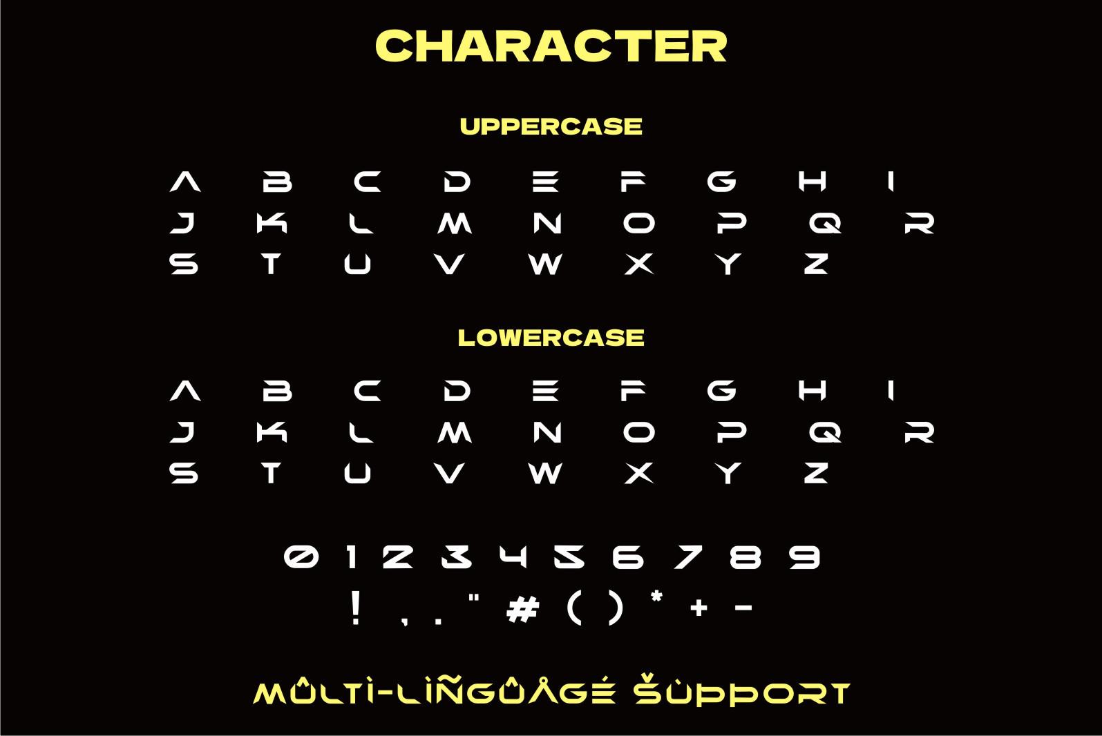 Rebras Display Font -3
