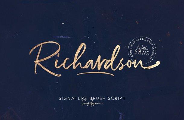 Richardson Font